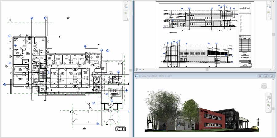 Autocad Revit Architecture Training Institute Pune